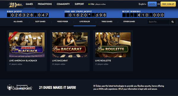 21 Dukes Casino Review – 21 Dukes Online Casino