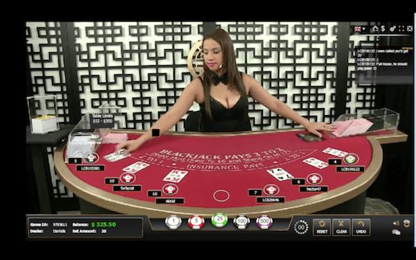 GGL live blackjack