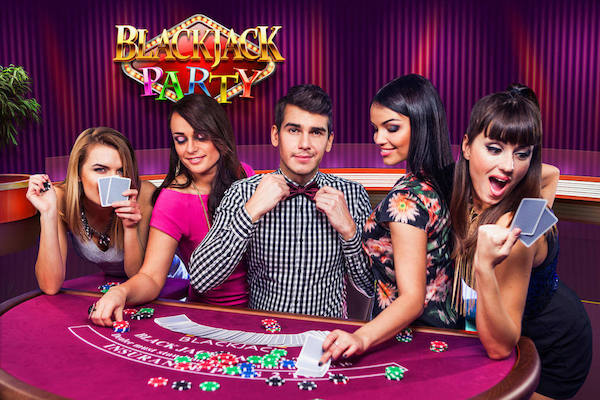 Evolution's Blackjack Party tables offer the most entertainment for least money.