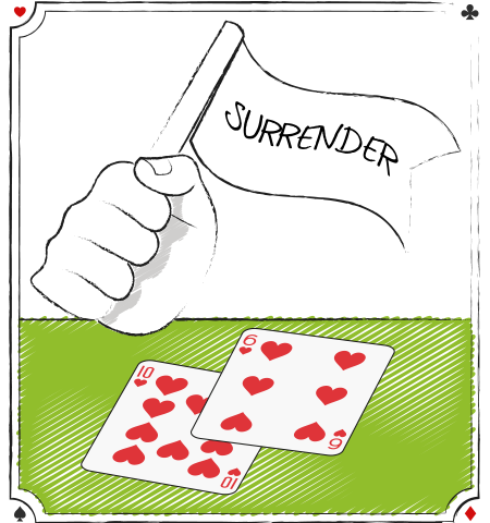 blackjack surrender strategy