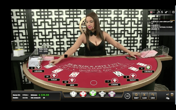 GGL live blackjack