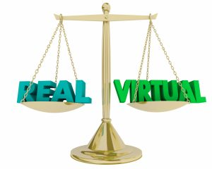 Real Vs Virtual Blackjack